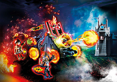 70394 Burnham Raiders Lava Catapult