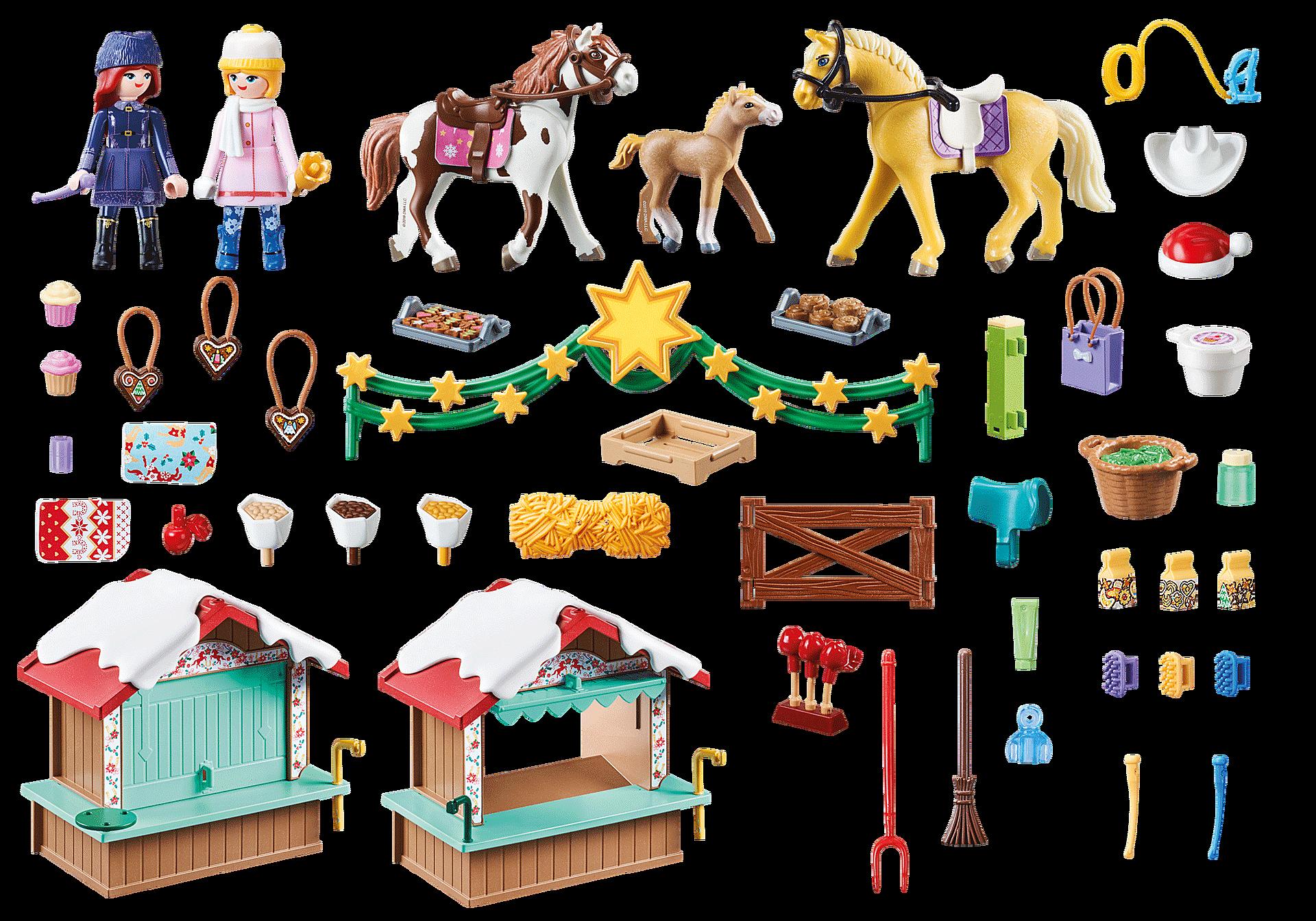 weihnachten in miradero  70395  playmobil® deutschland