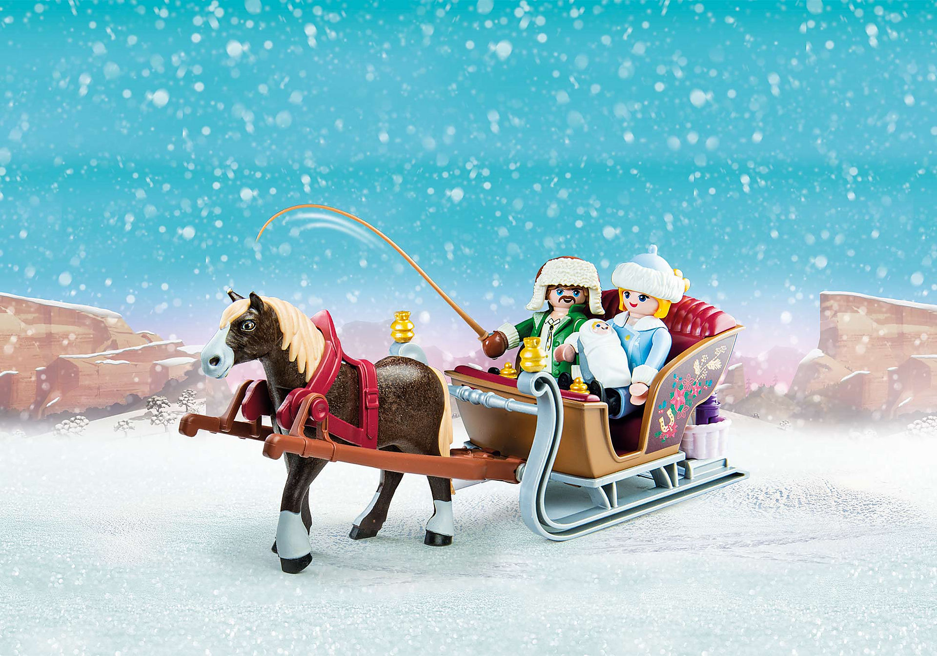 70397 Winter Sleigh Ride zoom image1