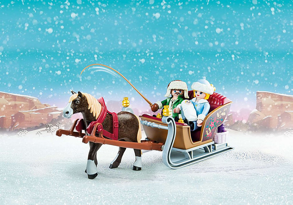 70397 Winter Sleigh Ride detail image 1