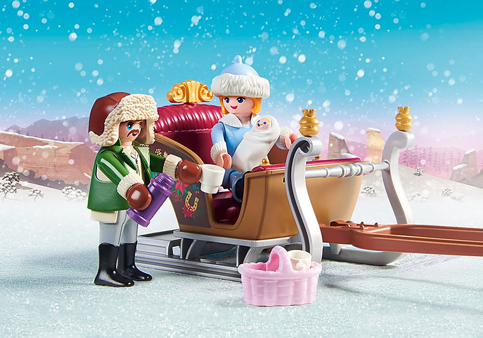 70397 Winter Sleigh Ride detail image 4