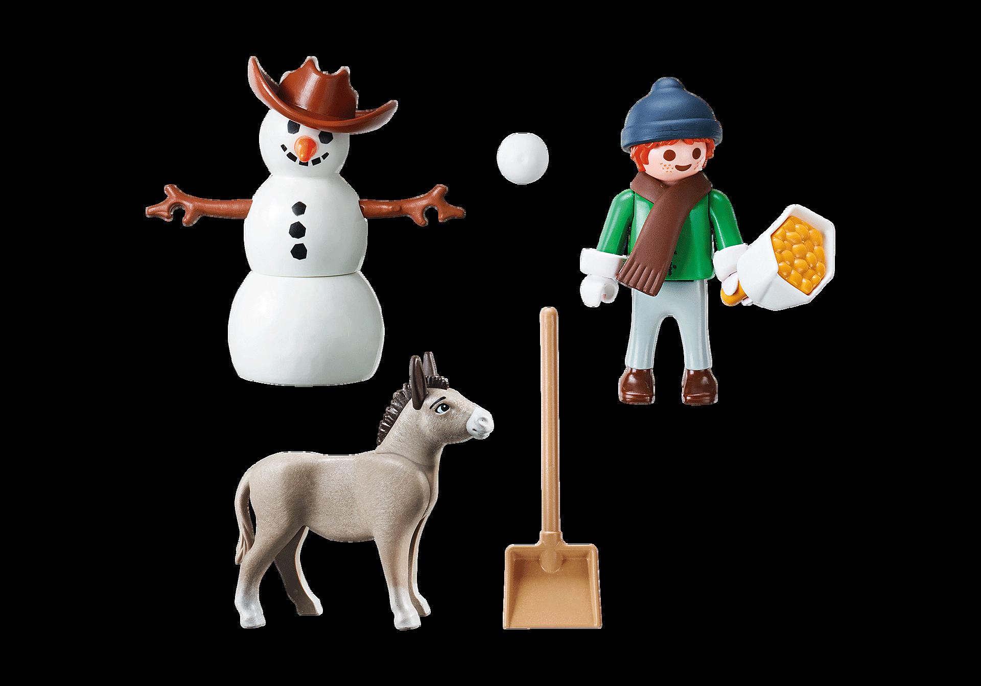 70398 Boneco de Neve com Tosquiado e Senhor Cenoura zoom image3