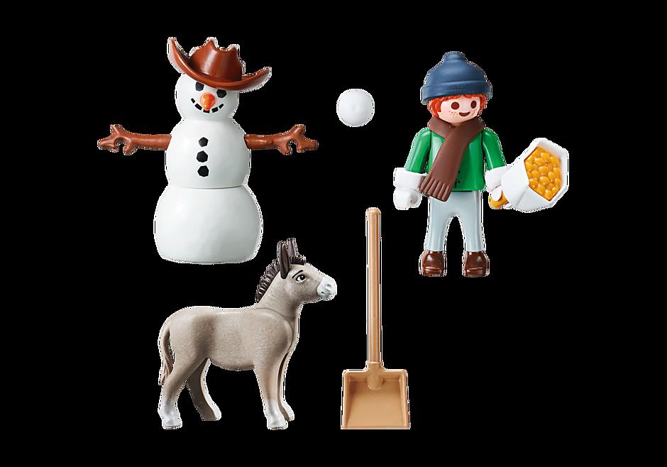70398 La Mèche et Monsieur Carotte en hiver detail image 3