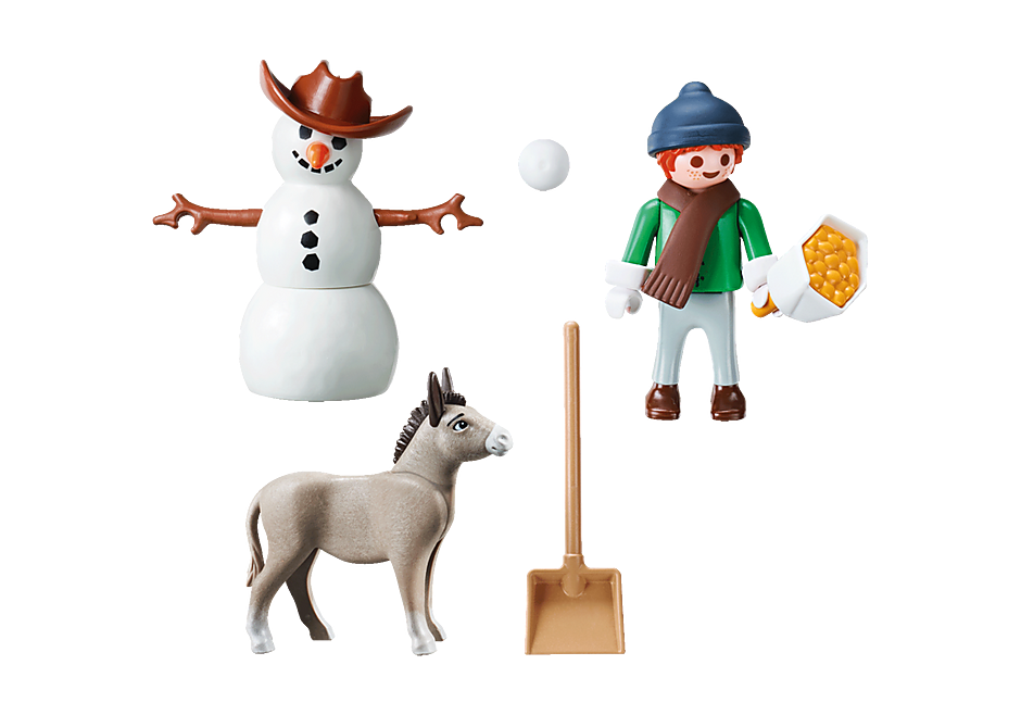 70398 Snow time with Snips and Señor Carrots detail image 3