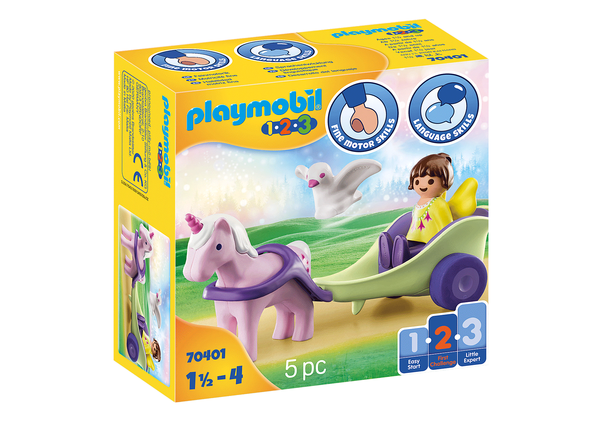 70401 Unicorn Carriage with Fairy zoom image2