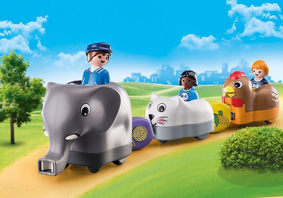 70405 Train des animaux detail image 1