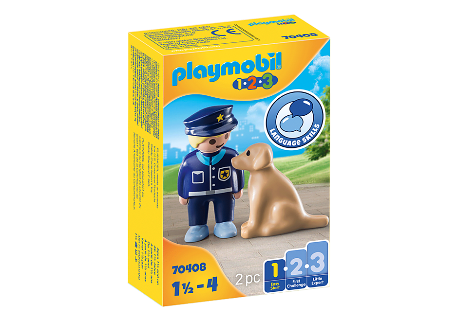 70408 Police Officer with Dog detail image 3