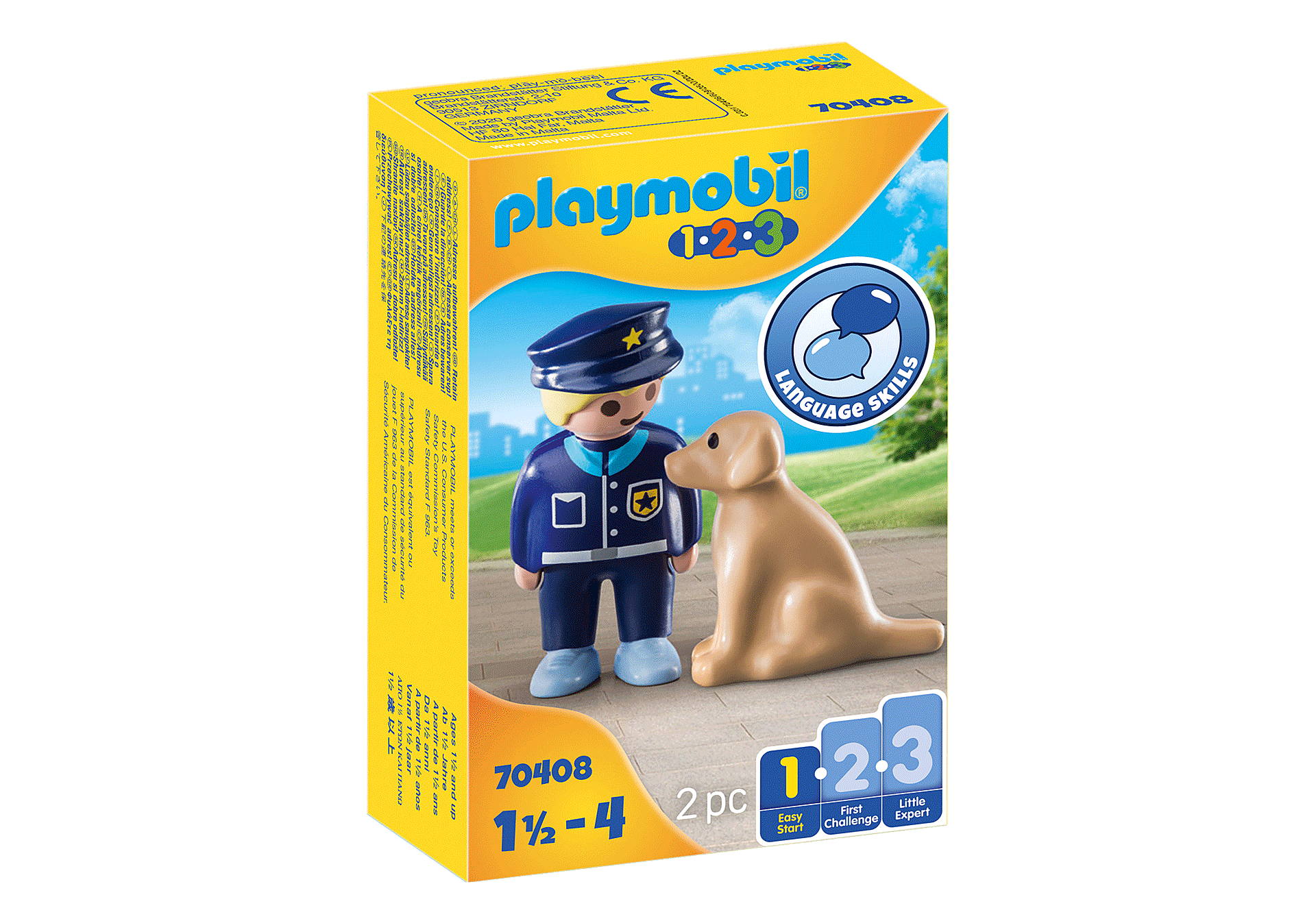 70408 Polis med hund zoom image2