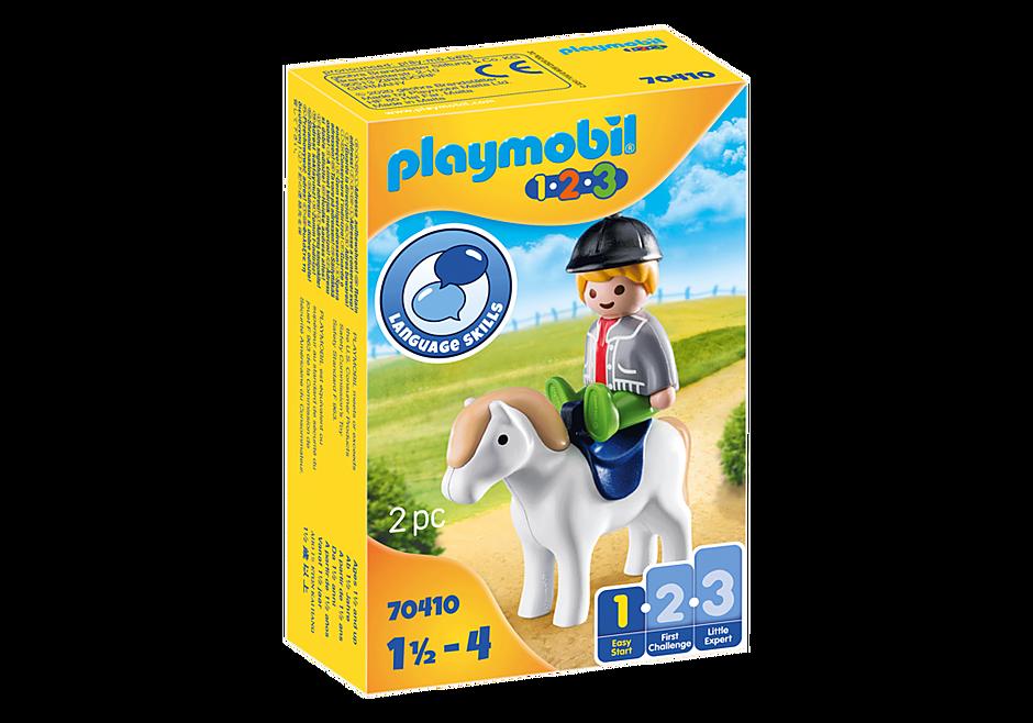70410 Boy with Pony detail image 2