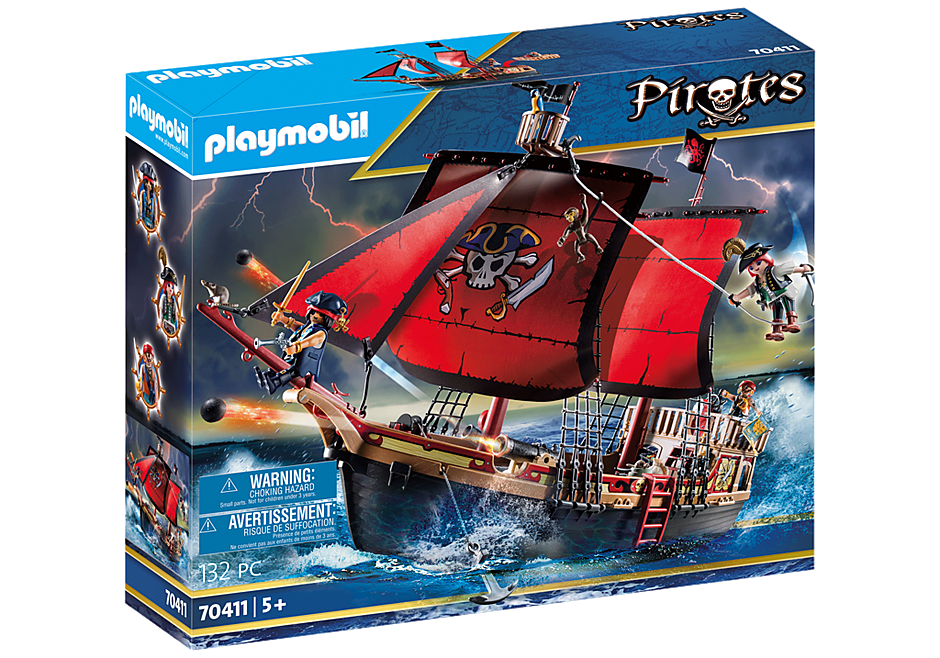 70411 Pirate Ship detail image 2