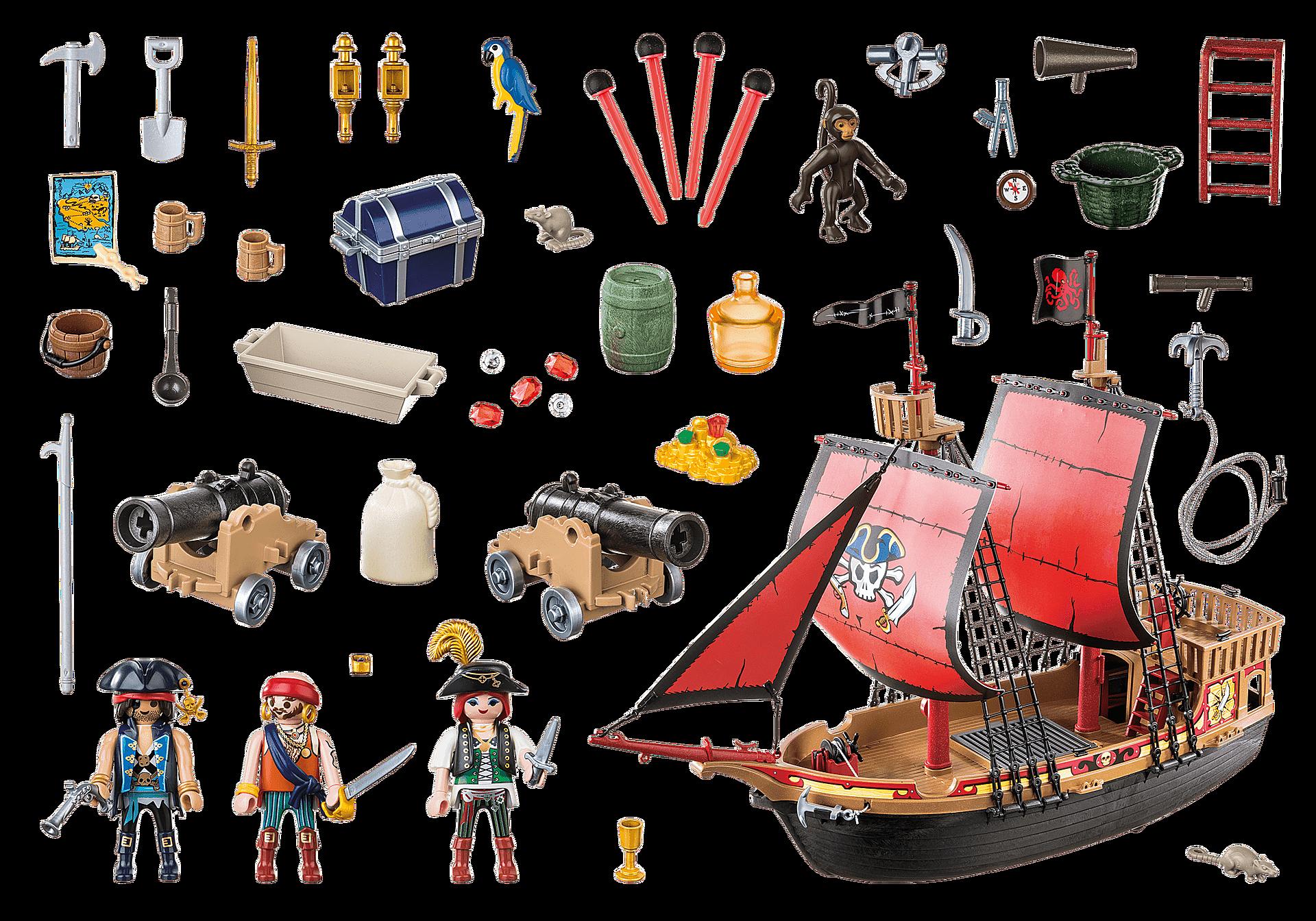 70411 Skull Pirate Ship zoom image3