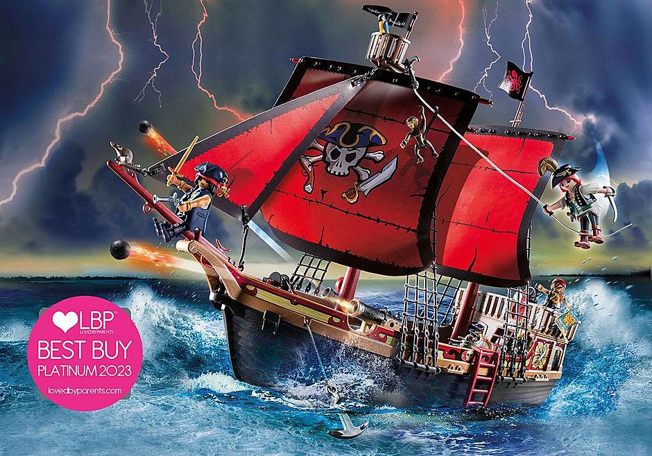 70411 Skull Pirate Ship detail image 1