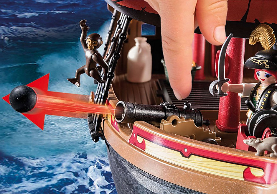 70411 Skull Pirate Ship detail image 5