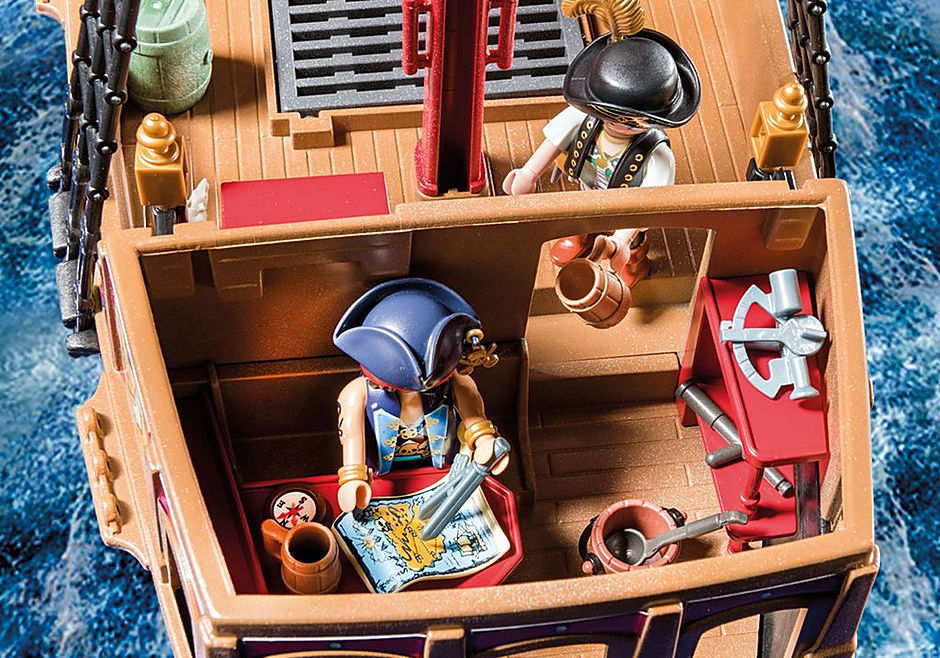 70411 Pirate Ship detail image 6