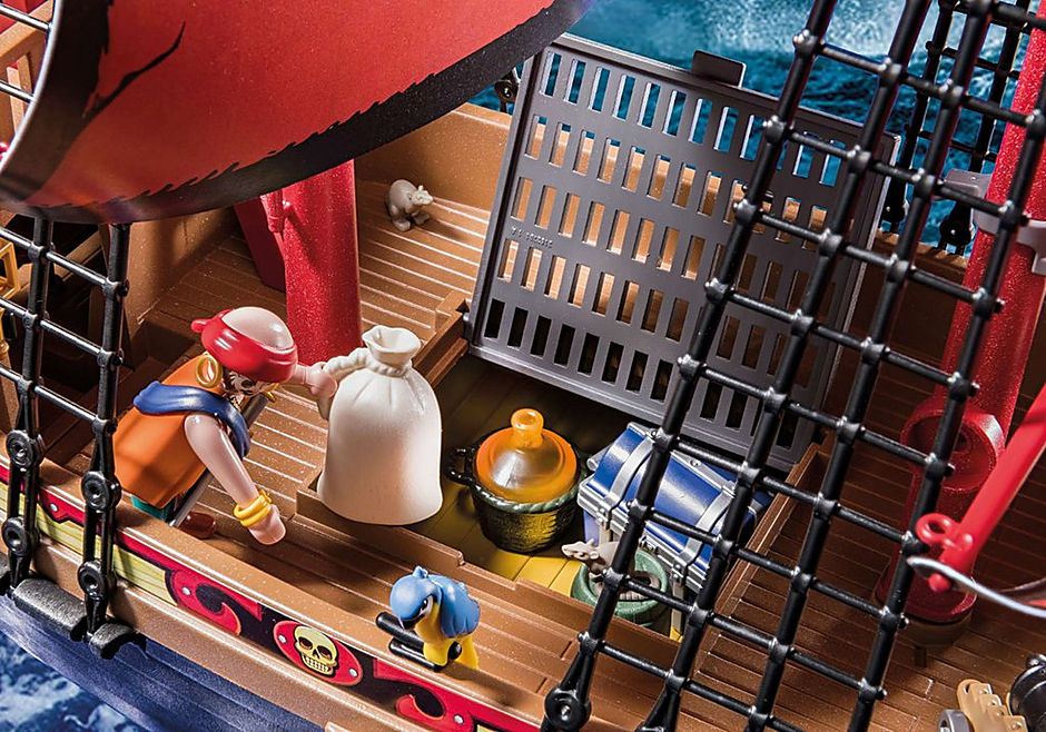 70411 Barco Pirata Calavera detail image 7