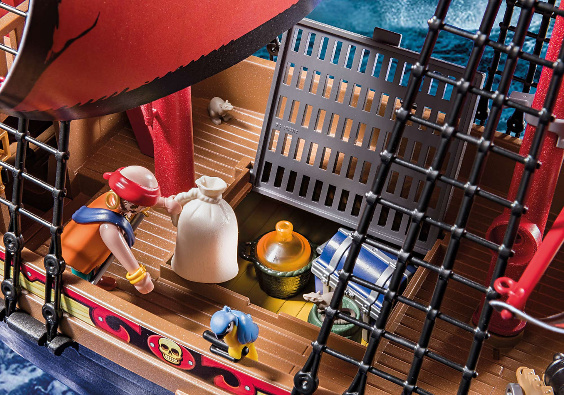 70411 Barco Pirata Calavera zoom image7