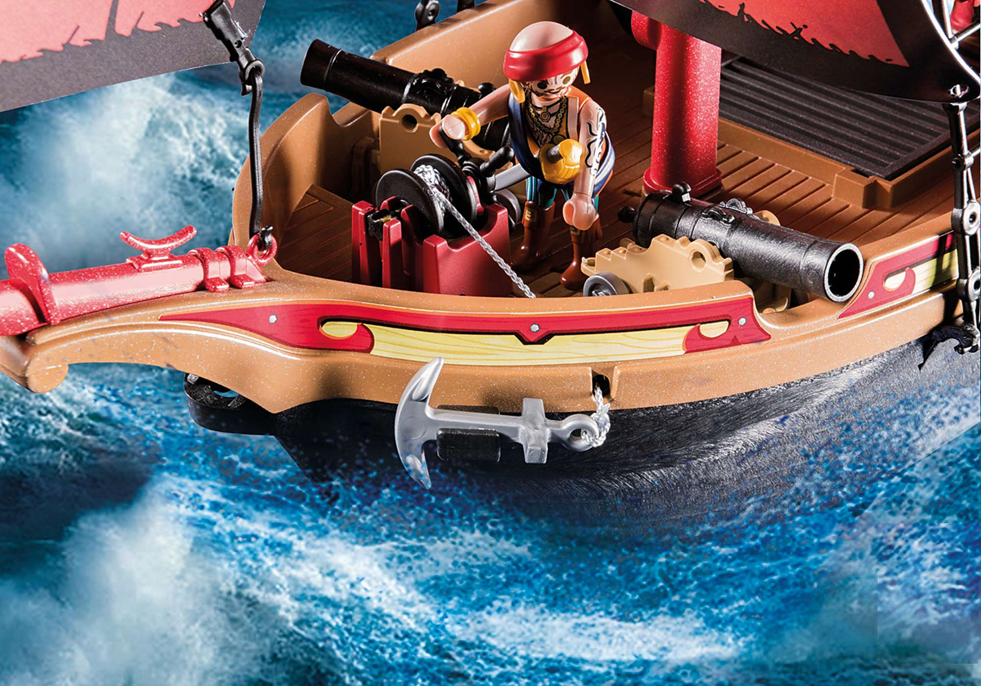 70411 Skull Pirate Ship zoom image8
