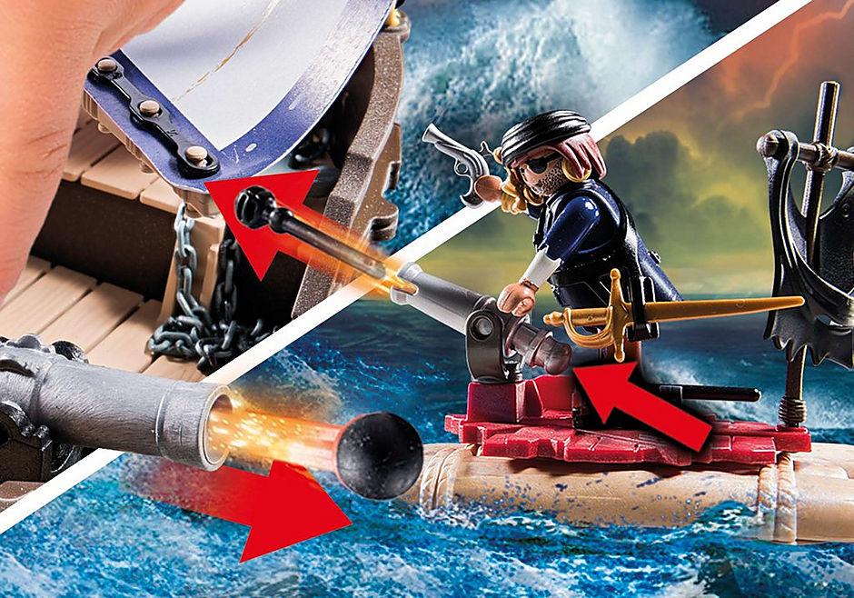 70412 Skepp med rödrockar detail image 5