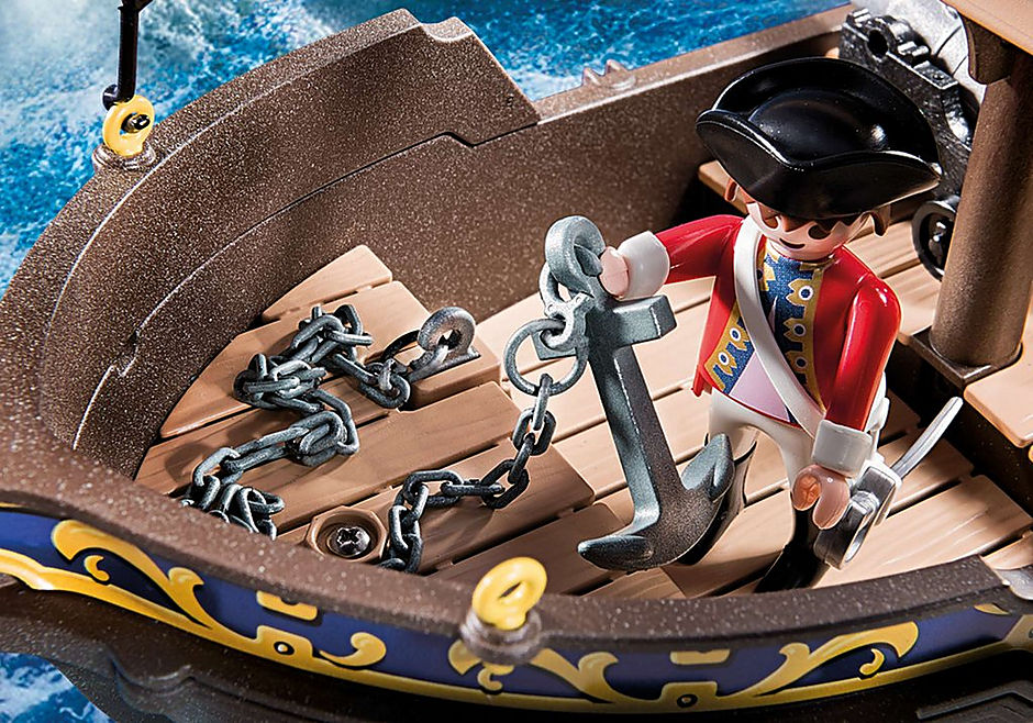 70412 Redcoat Caravel detail image 7