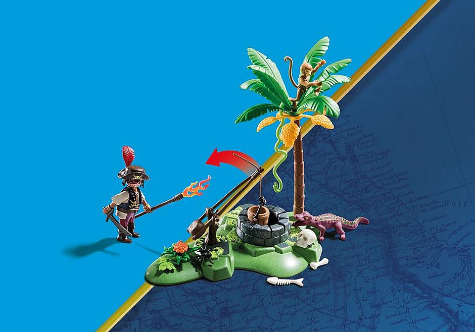 70414 Nascondiglio del tesoro dei pirati detail image 3