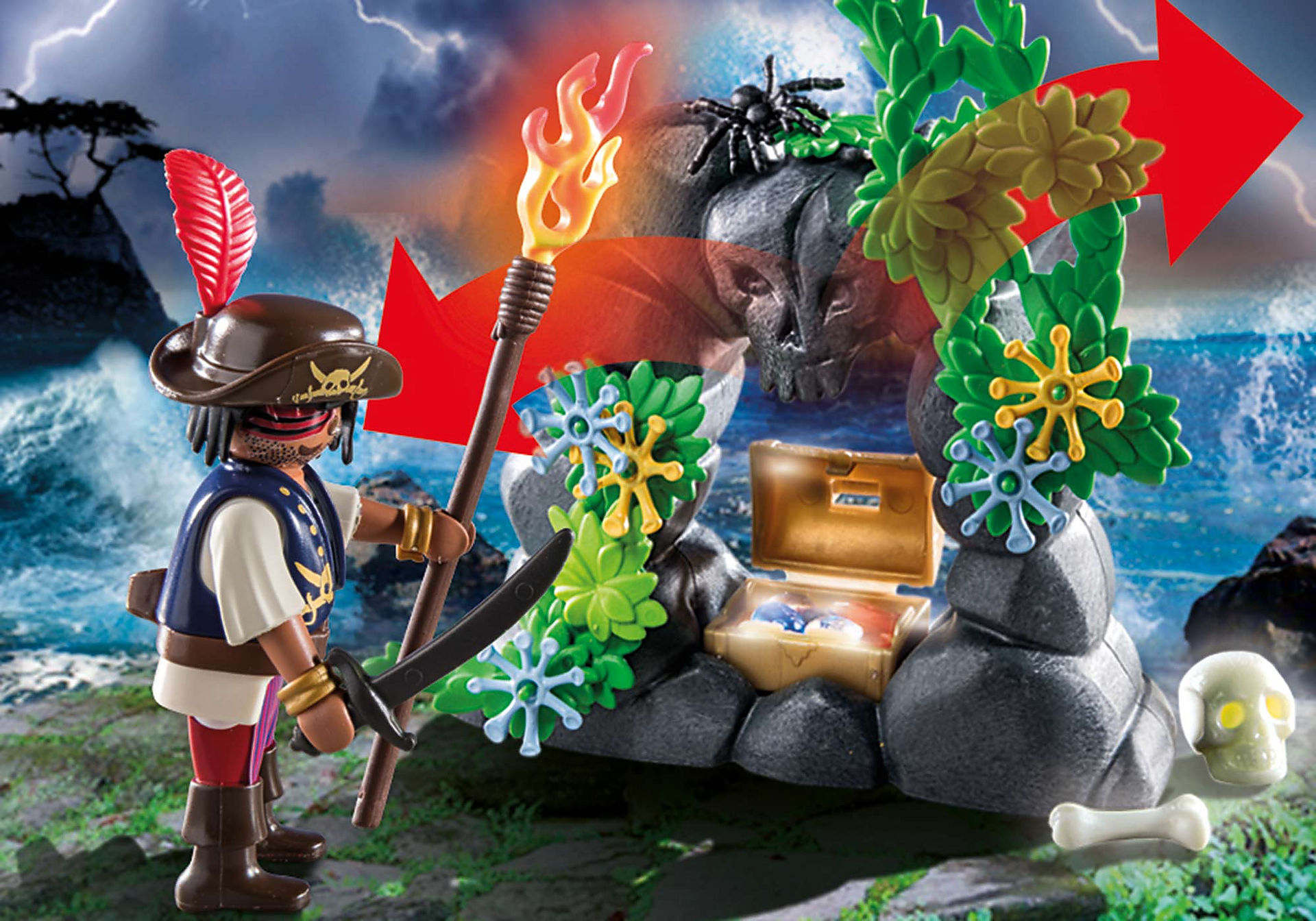 70414 Repaire du trésor des pirates zoom image6