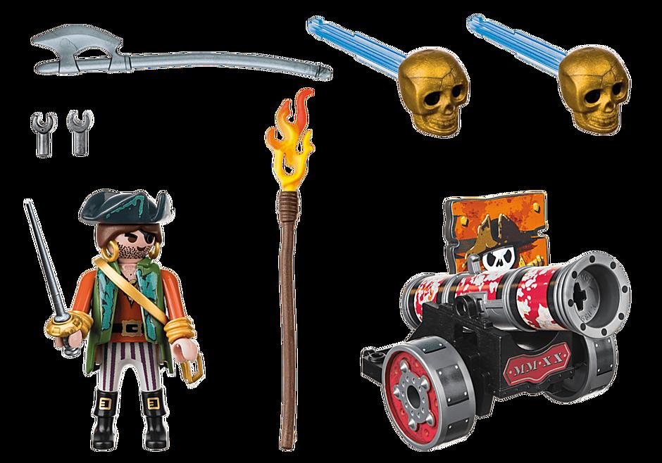 70415 Piraat met kanon detail image 3