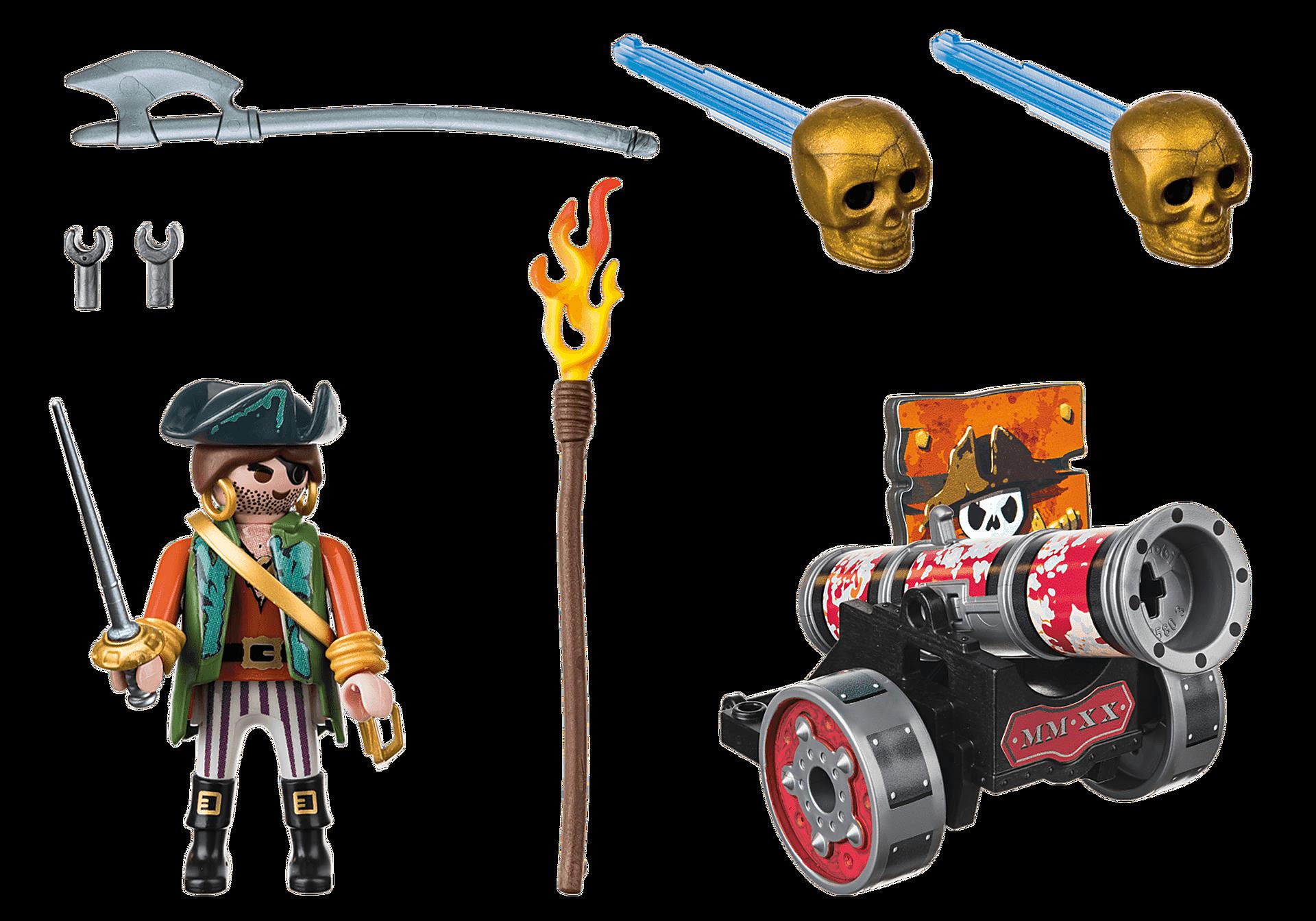 70415 Pirat med kanon zoom image2