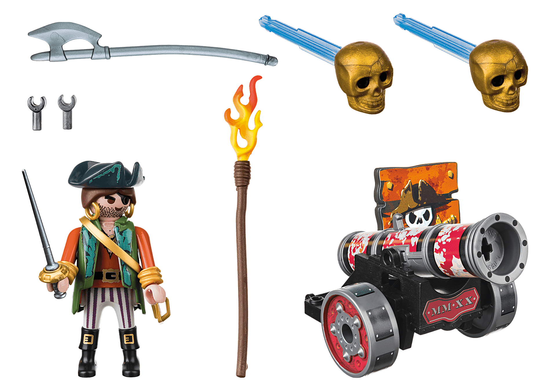 70415 Pirate with Cannon zoom image3