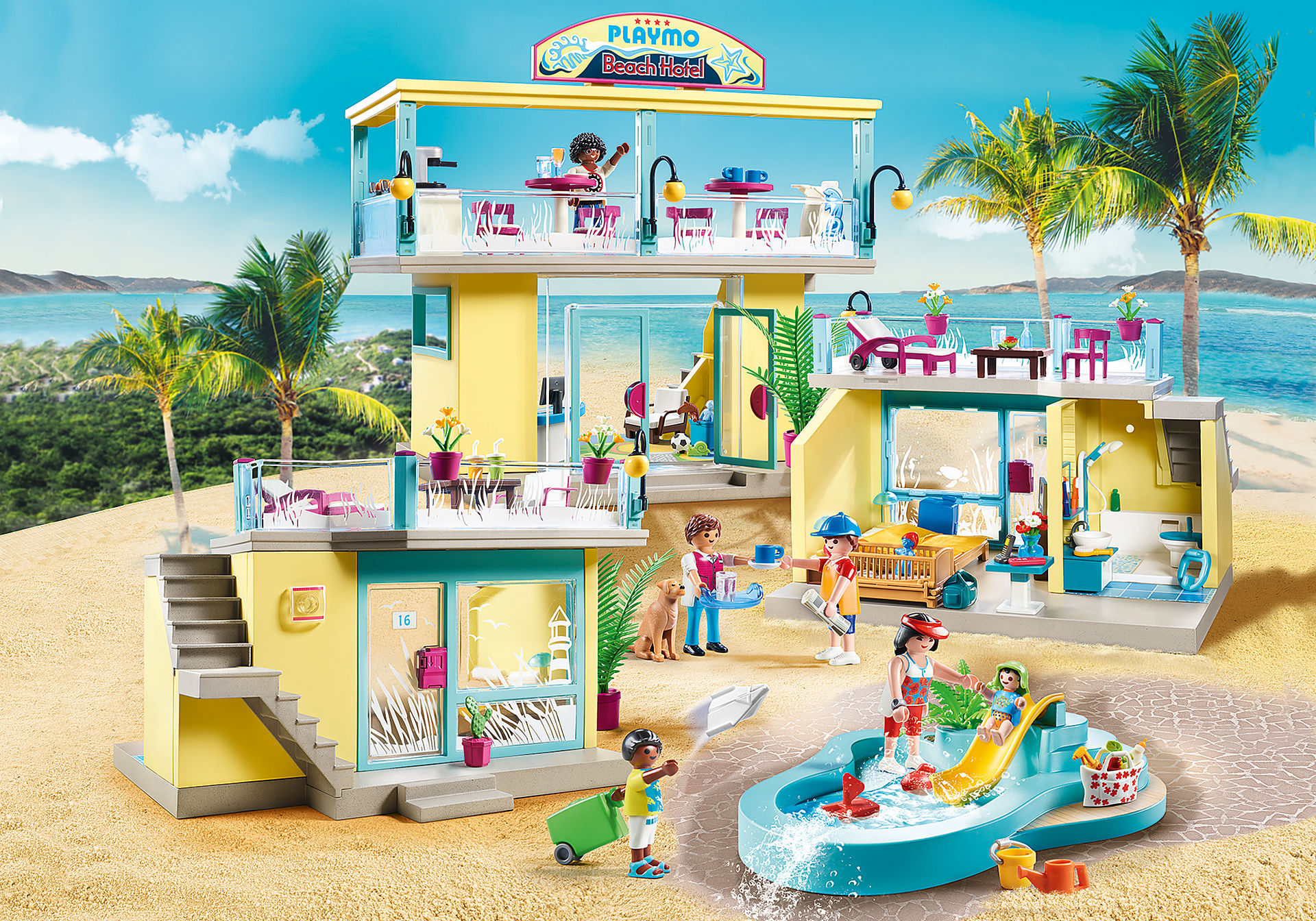 70434 PLAYMO Beach Hôtel zoom image1