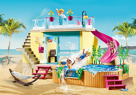 70435 Bungalow med pool