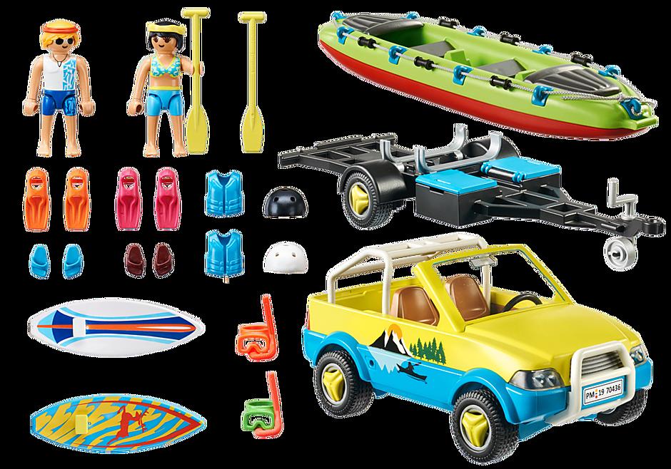 70436 Auto da spiaggia con rimorchio per canoa detail image 3