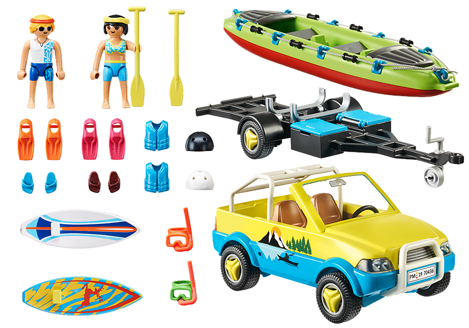 70436 Beach Car with Canoe detail image 3