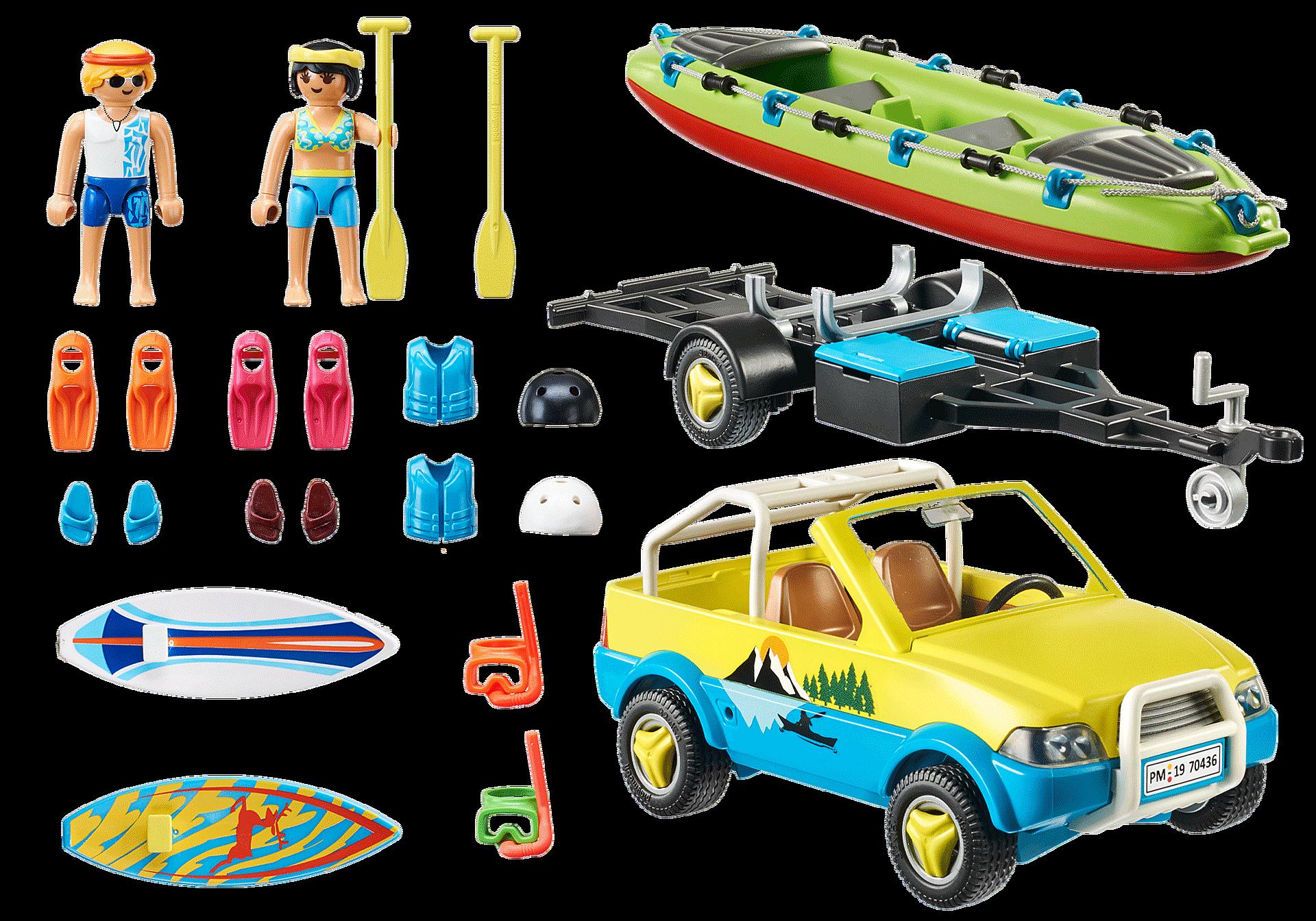 70436 Strandauto mit Kanuanhänger zoom image4