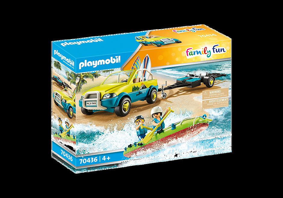 70436 Auto da spiaggia con rimorchio per canoa detail image 2