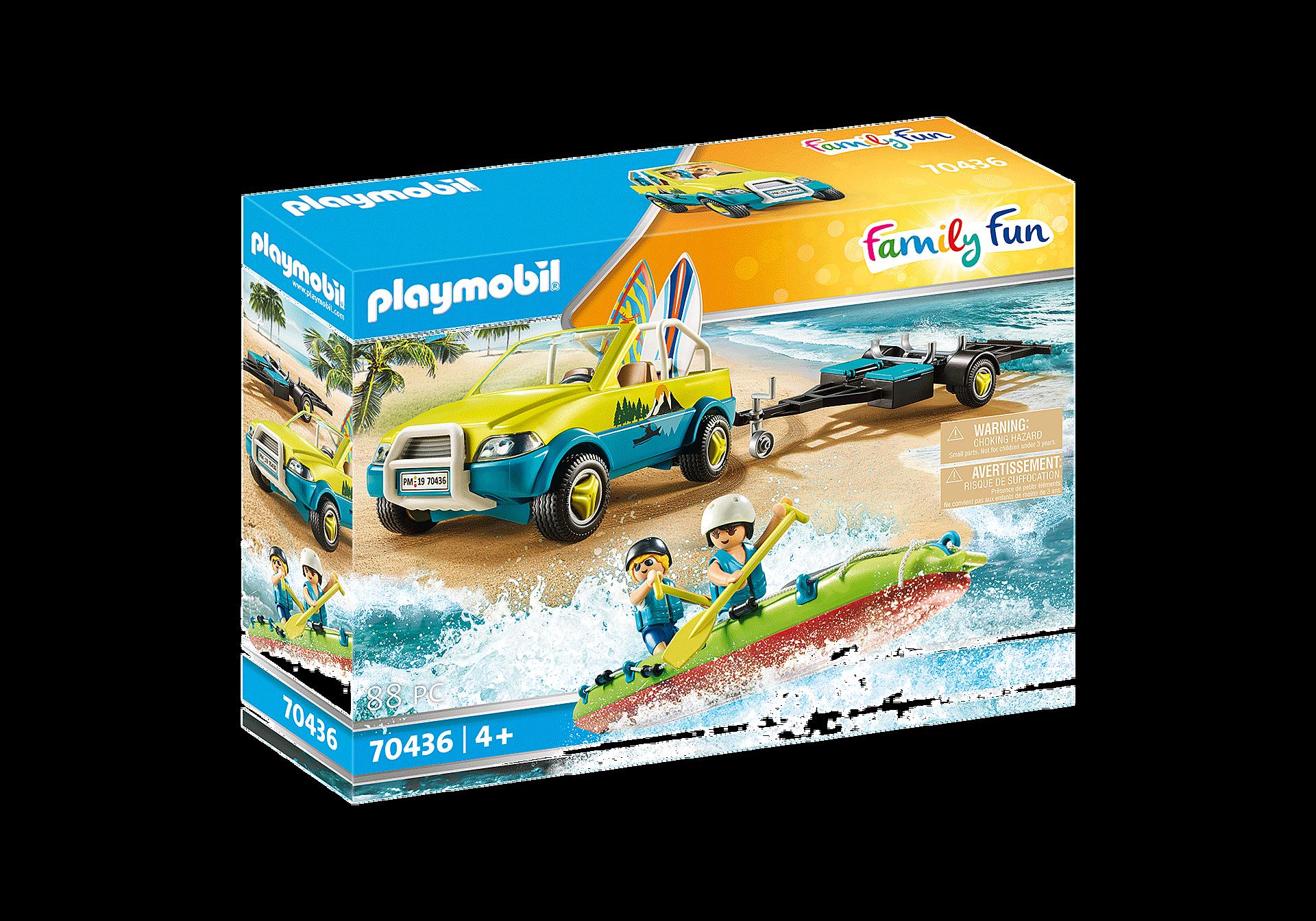 70436 Auto da spiaggia con rimorchio per canoa zoom image2