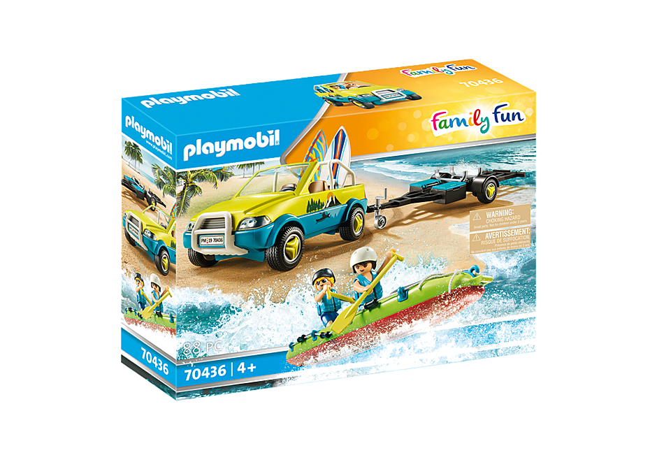 70436 Coche de Playa con Canoa detail image 2