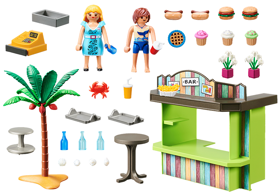 70437 Kiosk na plaży detail image 3