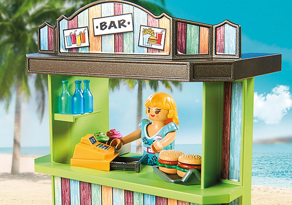 70437 Kiosk na plaży detail image 4