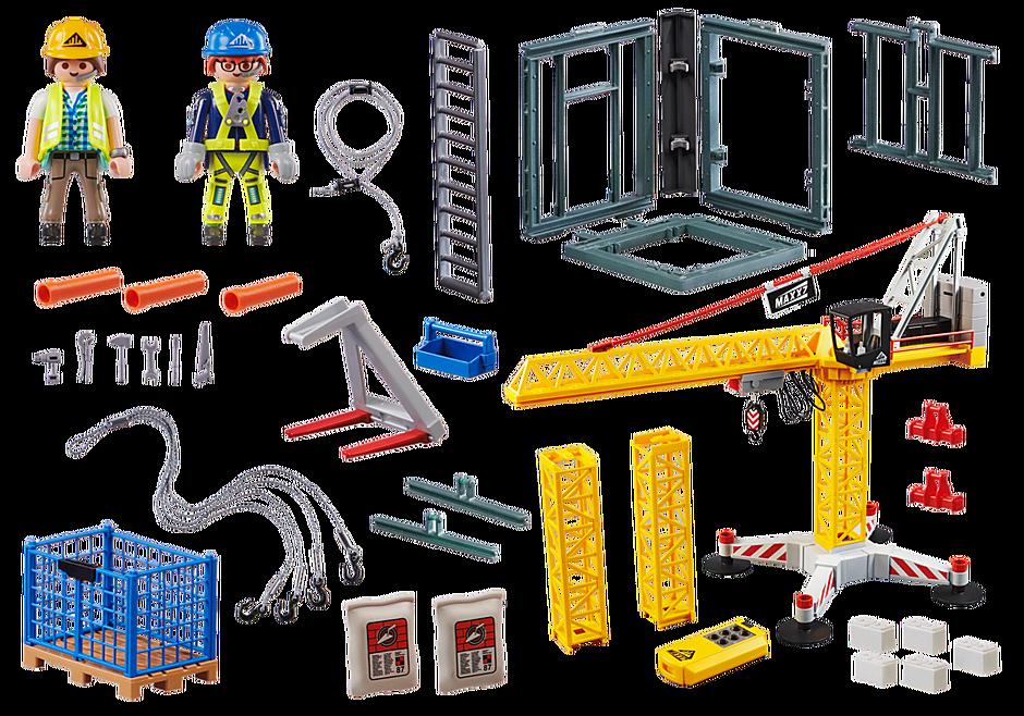 70441 Távirányítós építkezési daru detail image 3