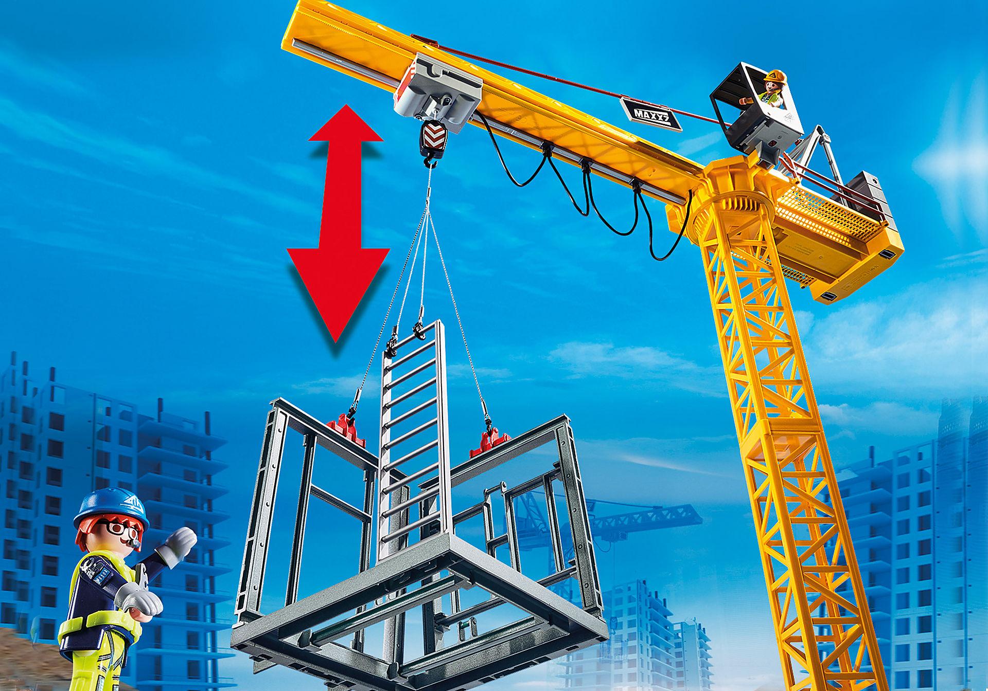 70441 RC bouwkraan met bouwonderdeel zoom image5