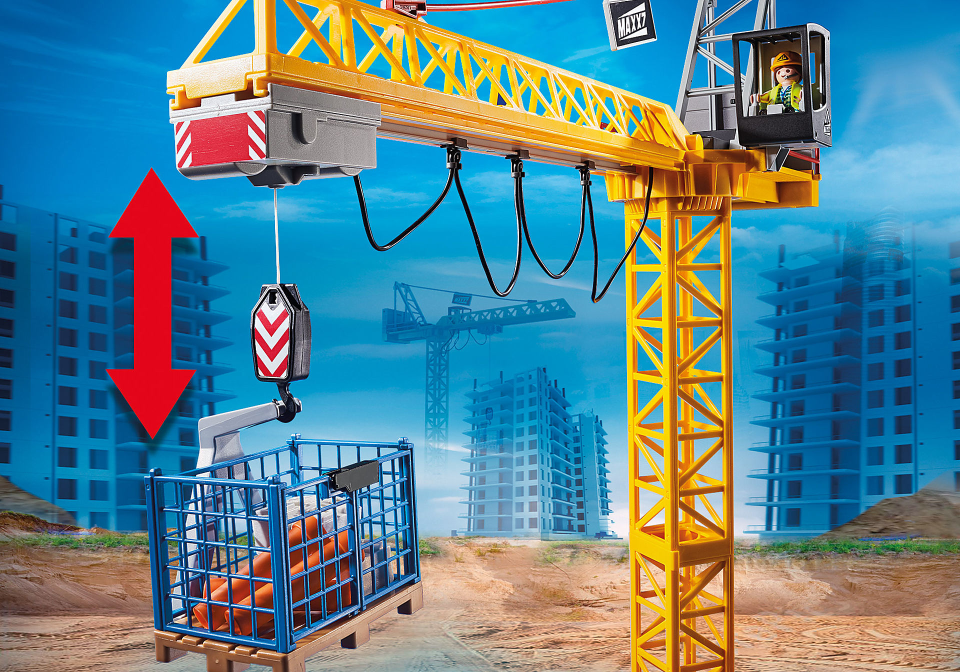70441 RC Crane with Building Section zoom image6