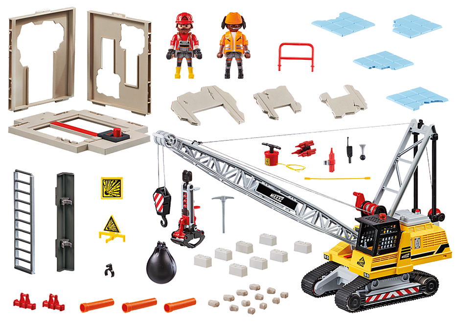 70442 Cable Excavator with Building Section detail image 3