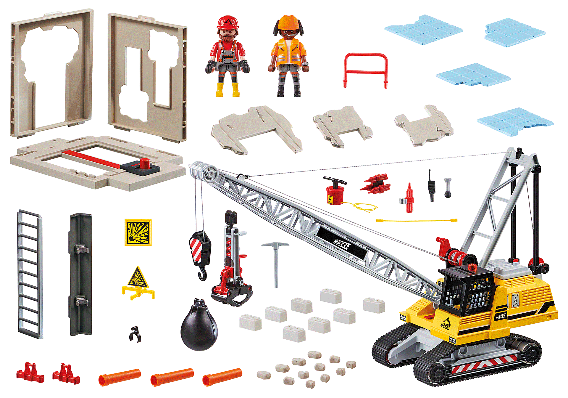 70442 Cable Excavator with Building Section zoom image3