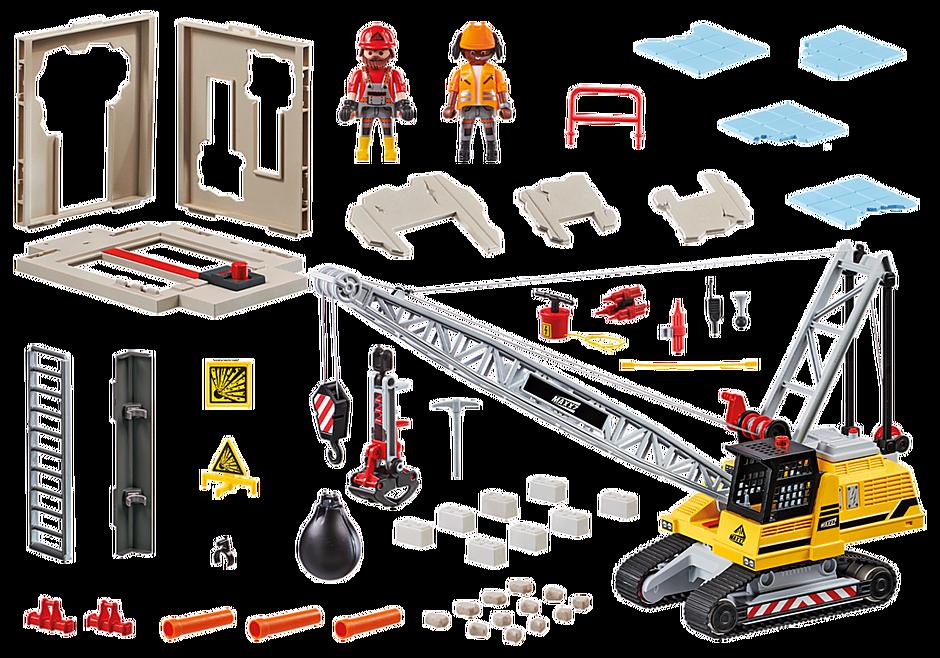 70442 Dragline avec mur de construction detail image 3