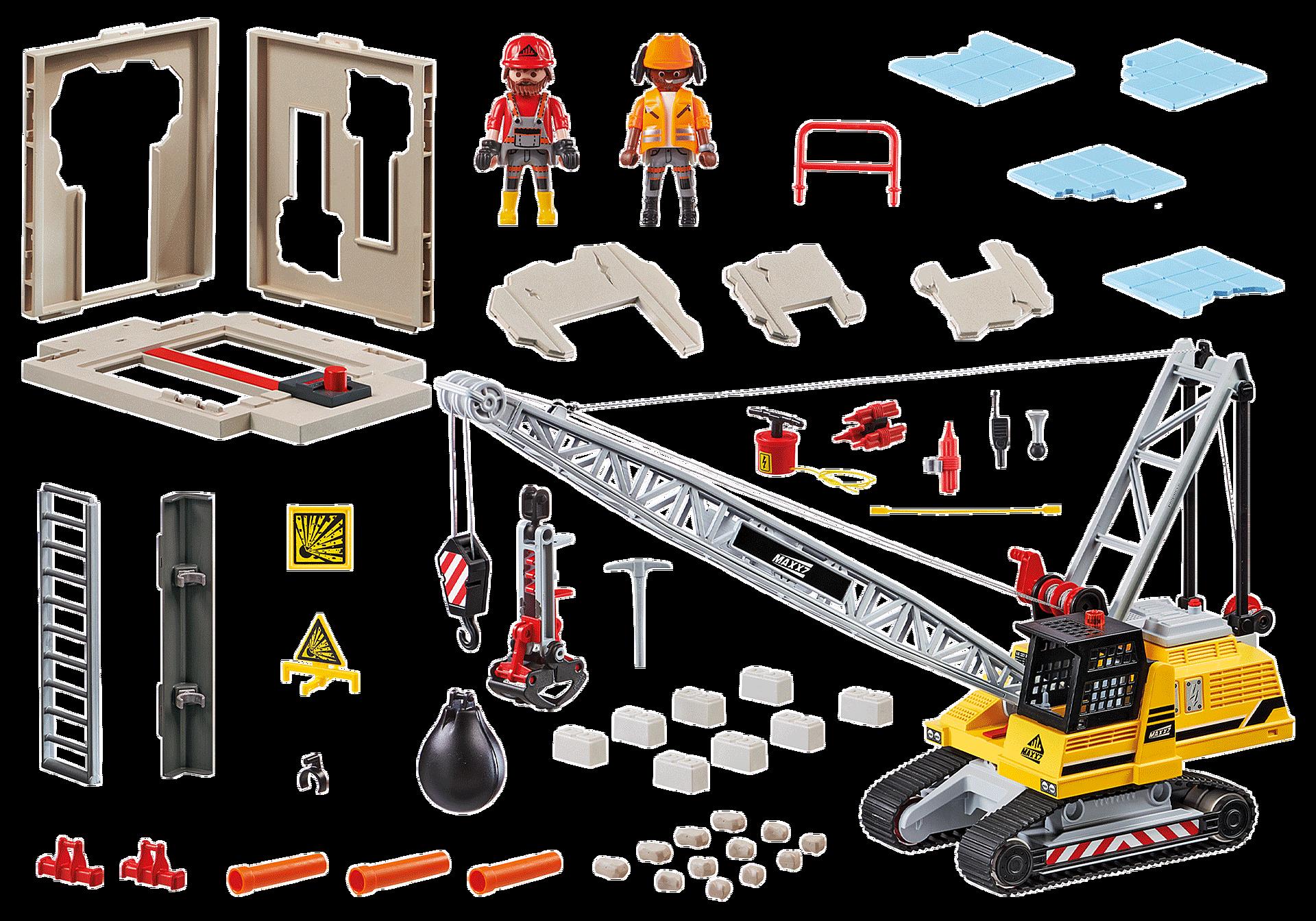 70442 Gravemaskine med byggedel zoom image3