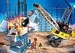 70442 Kabelgraafmachine met bouwonderdeel