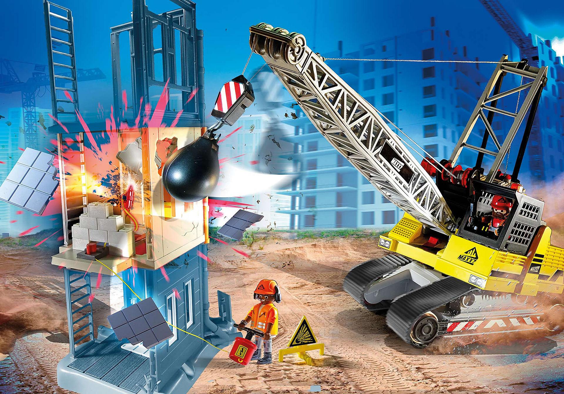 70442 Kabelgraafmachine met bouwonderdeel zoom image1
