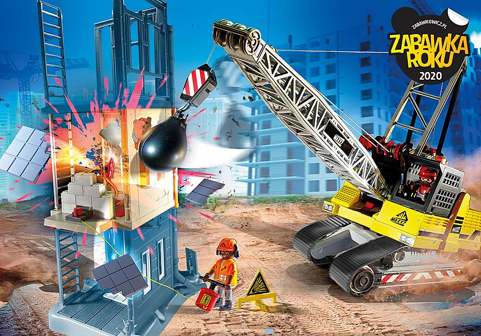 70442 Koparka linowa z elementem konstrukcyjnym detail image 1
