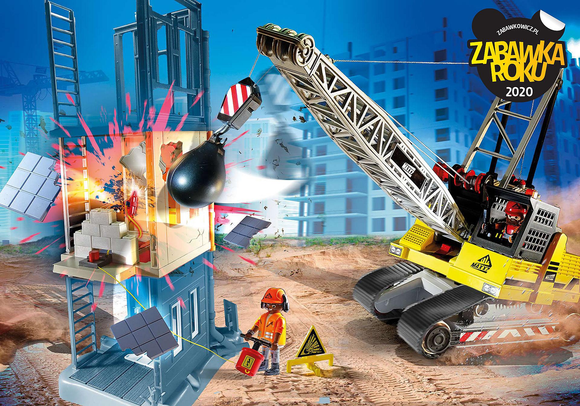 70442 Koparka linowa z elementem konstrukcyjnym zoom image1