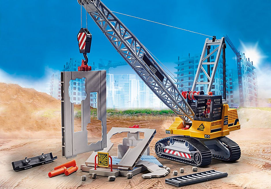 70442 Dragline avec mur de construction detail image 5
